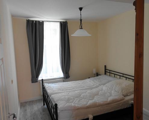Schlafzimmer Ferienwohnung Greetsiel